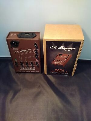 L.R BAGGS Direct box for acoustic guitar PARA acoustic D.I. From Japan