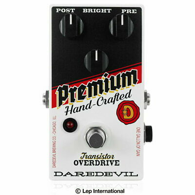 Daredevil Pedals Premium Od With Video Overdrive Effector • 257.33£