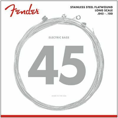 Fender 9050 Stainless Flatwound Bass Strings, 9050L, 045-100 • 36.99£