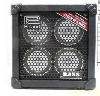 ROLAND combo MICRO CUBE BASS RX From Japan