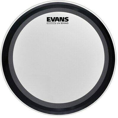 Evans EMAD UV1 Coated Bass Drum Head, 20in • 48.20£