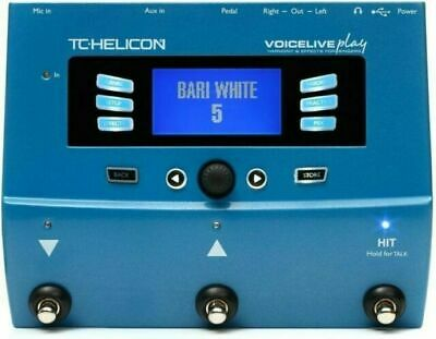 TC-Helicon 996356005 VoiceLive Play Vocal Effect Processor Pedal • 359.61£