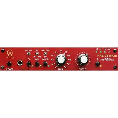 Golden Age Project PRE-73 MKIII Mic Preamp & Direct Box • 251.48£