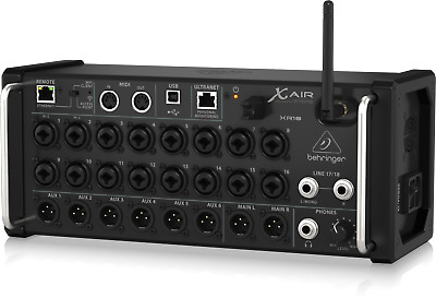 Behringer X AIR XR18 18-Channel, 12-Bus Digital Mixer For IPad/Android Tablets  • 499£
