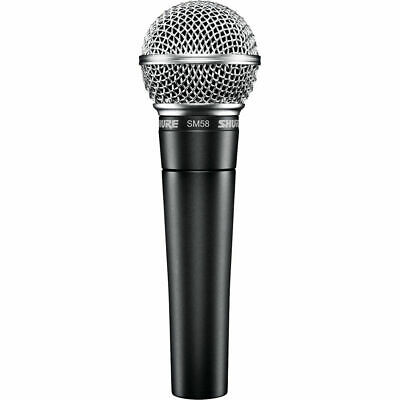 Shure SM58-LC Dynamic Wired XLR Professional Vocal Microphone Unidirectional • 65.11£