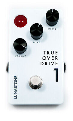 New Lunastone Tod1 True Overdrive 1 - Tube Amp Style Overdrive Distortion Pedal • 75£