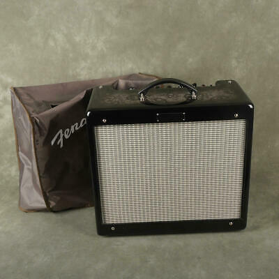 Fender Blues Junior III - Ltd Edition Black Paisley w/Cover - 2nd Hand **COLLECT