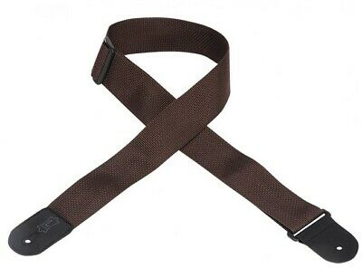 Levys M8Poly Polyester Strap, Brown