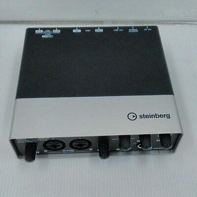 Steinberg UR22 MK2 Two-Channel USB Audio Interface color black in Good condition
