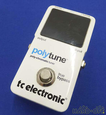 TC Electronic PolyTune Poly-Chromatic Tru-Bypass Pedal Tuner From Japan