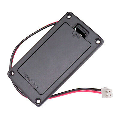 Pro 9 volt battery box compartment for the Active Bass guitar,