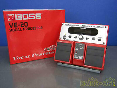 Boss VE-20 Effects Processor Pedal Vocal Performer Voice Audio Equip from Japan