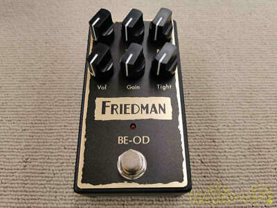 Friedman Amplification BE-OD Overdrive Guitar Effects From Japan Good Condition