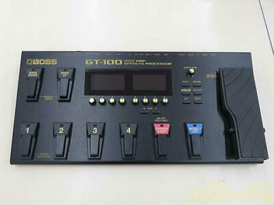 Boss GT100 Multi-Effects Guitar Effect Pedal From Japan Good Working Condition