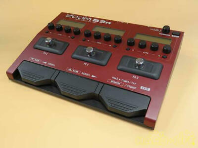 Zoom B3N Multi-Effects Processor for Bass From Japan Tested & Good Condition