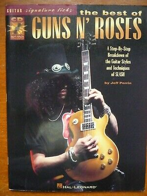 Guitar licks - The Best of Guns and Roses - words & music with CD (Hal Leonard)
