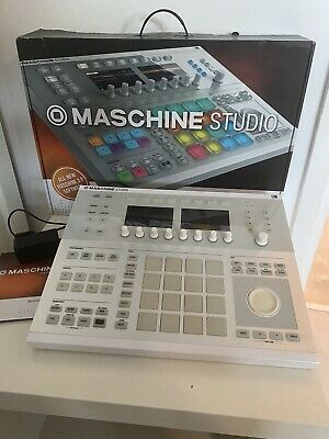Native Instruments Maschine Mk2 White With Komplete 11 Select For Maschine SW