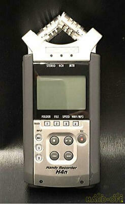 Zoom H4n Black & Silver Portable professional Digital Handy Recorder From Japan