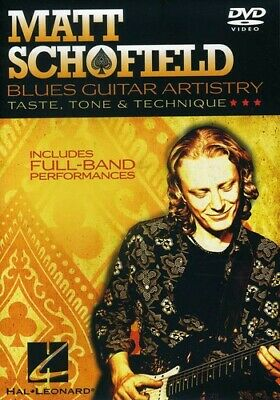Matt Schofield: Blues Guitar Artistry (2010, REGION 1 DVD New) • 21.77£
