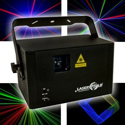 Laserworld CS-1000RGB MK2 MKII Laser Disco DJ Club Stage RGB DMX Lighting Effect • 379£