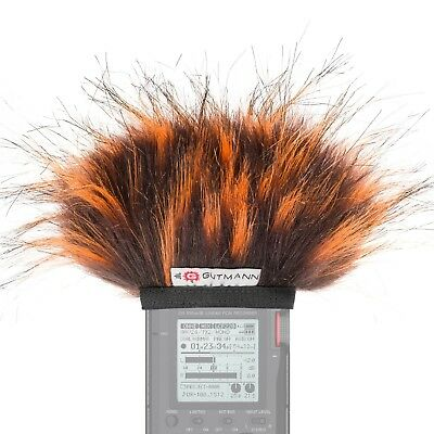Gutmann Microphone Fur Windscreen Windshield For Tascam DR-22WL Model FIRE • 24.90£