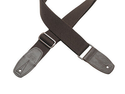 Reunion Blues Merino Wool Guitar Strap, Leather Ends, Chestnut Brown, RBS-34 • 28.91£