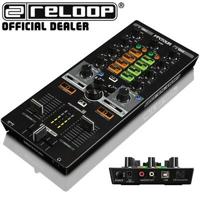 Reloop Mixtour 2-Channel All-in-One DJ Midi Controller - IOS Android USB PC Mac • 160£