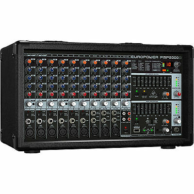New Behringer PMP2000D 2000W Powered Mixer Buy It Now! Best Offer! Auth Dealer! • 367.98£