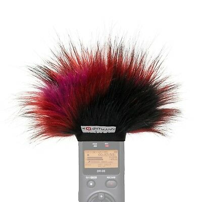 Gutmann Microphone Fur Windscreen Windshield For Tascam DR-22WL Model BUTTERFLY • 24.90£