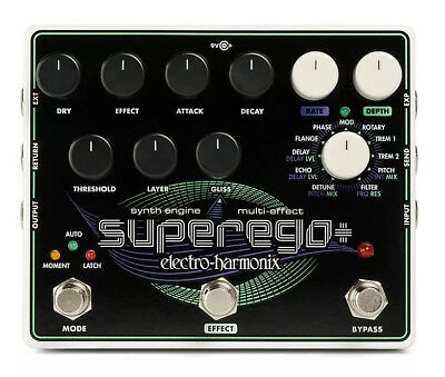 NEW! Electro-Harmonix Superego+ FREE 2-3 Day S&H IN US, Superego Plus • 181.92£