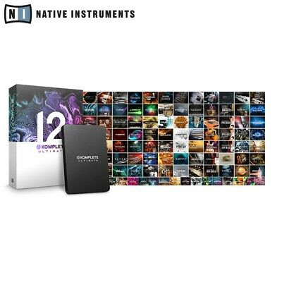Native Instruments Komplete 12 Ultimate Professional Music Production Software • 979£