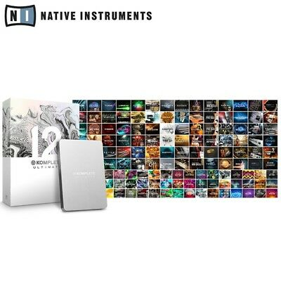Native Komplete 12 Ultimate Collectors Edition Studio Music Production Software • 1,329£