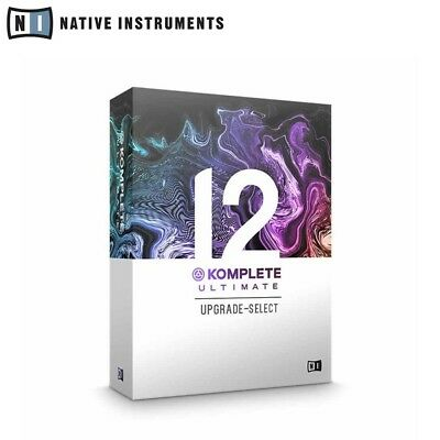 Native Instruments Komplete 12 Ultimate Upgrade From Komplete 12 Select • 799£