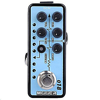 Mooer 018 Custom 100 Micro Preamp Guitar Effects Pedal  • 56.27£