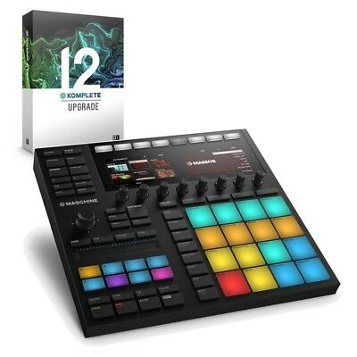 Native Instruments Maschine MK3 Production Controller With Komplete 12 Upgrade • 787£