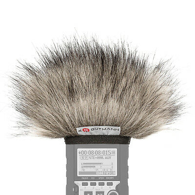 Gutmann Microphone Fur Windscreen Windshield For Zoom H1 / H1n LYNX • 29.90£