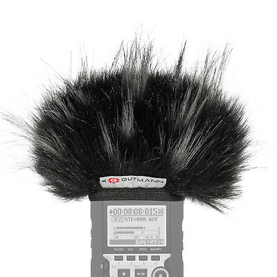 Gutmann Microphone Fur Windscreen Windshield For Zoom H1 / H1n STAR • 29.90£