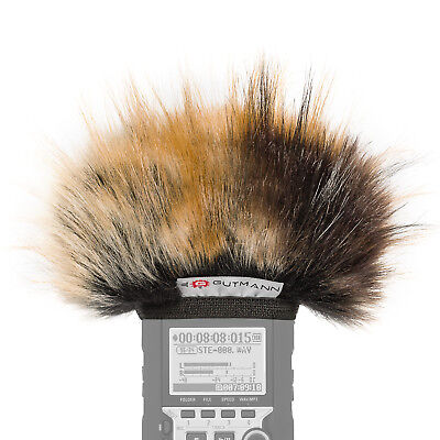 Gutmann Microphone Fur Windscreen Windshield For Zoom H1n Model TIGER • 29.90£