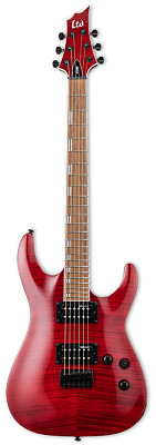 ESP LTD H-200FM Electric Guitar (See Thru Red) • 344.03£