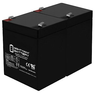 Mighty Max 12V 5AH Battery Replaces LD System Roadman 102/HS PA System - 2 Pack • 16.96£