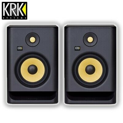 KRK Rokit RP7 G4 Professional Active Powered 5  DJ Studio Monitor Speaker (Pair) • 335£