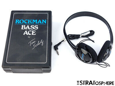 Used Rockman Tom Scholz Bass Ace Headphone Amplifier & Stereo Headset Effects • 60.20£