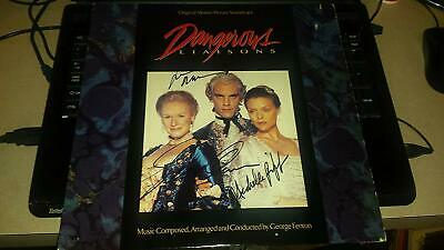 * DANGEROUS LIAISONS * Signed Soundtrack Album Cover / Pfeiffer,Malkovich,Close  • 164.86£