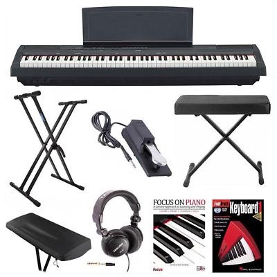 Yamaha P125 Digital Piano With Knox Stand, Bench, Pedal And Accessory Bundle • 884.12£