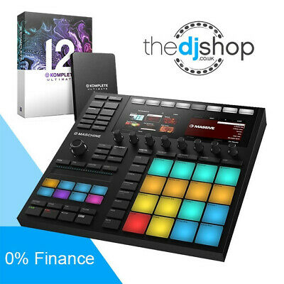 Native Instruments Maschine MK3 & Komplete 12 Ultimate Bundle Deal • 1,309£