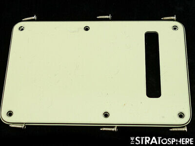 USA Fender The Edge Stratocaster Strat MINT GREEN TREMOLO COVER Guitar Plate • 7.59£