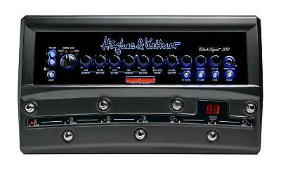 Hughes & Kettner Black Spirit 200 Floor Amplifier W/ DSP & Integrated Switcher • 835.16£