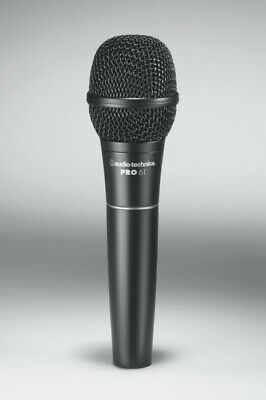 Audio-Technica PRO61 Pro Series Cardioid Dynamic Wired Vocal Handheld Microphone • 54.02£