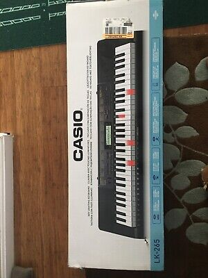 Casio LK-265  Lighted Keyboard With Application Integration - Black • 115.54£
