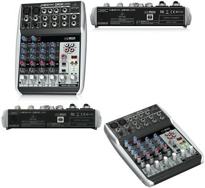 Behringer Premium 8 Input 2 Bus Mixer With XENYX Mic EQs And USB/Audio • 82.82£